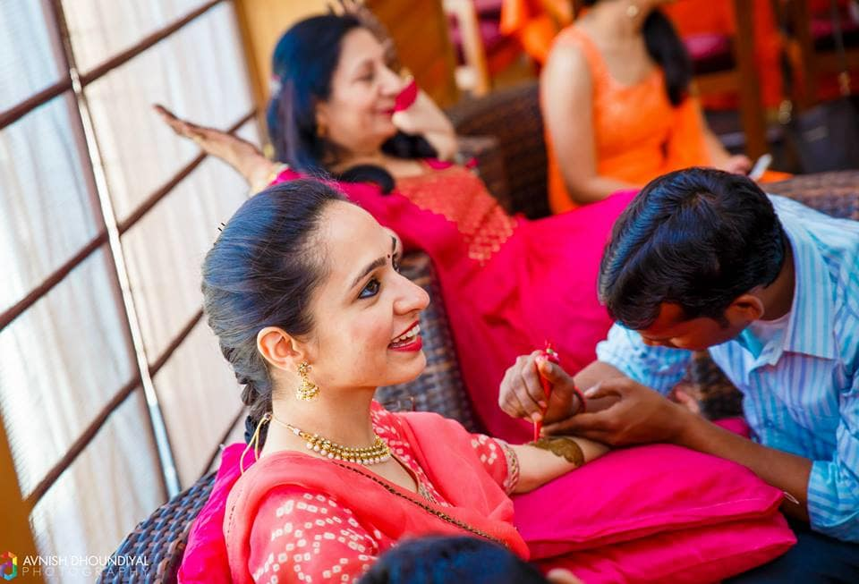 bridal mehandi:avnish dhoundiyal photography
