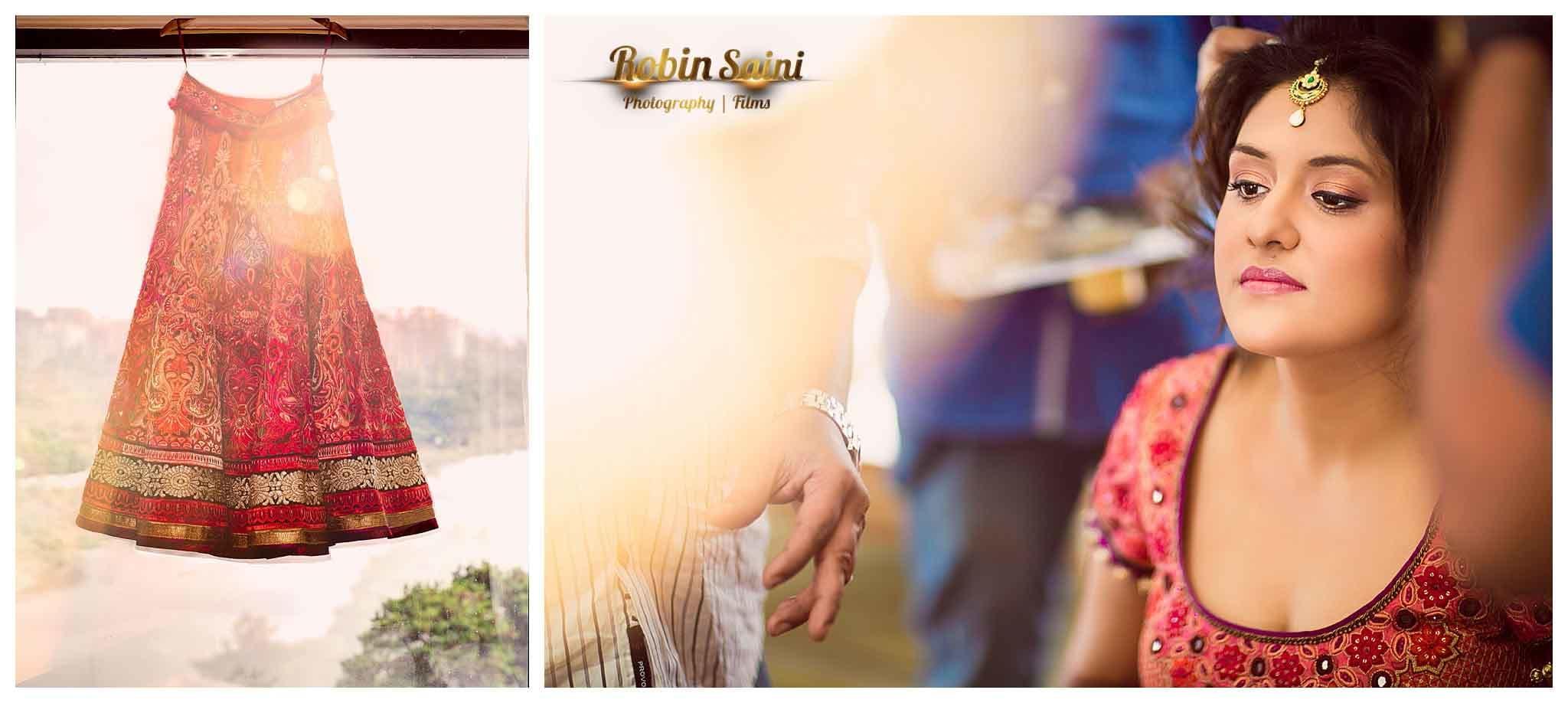 beautiful bridal wear:robin saini photography
