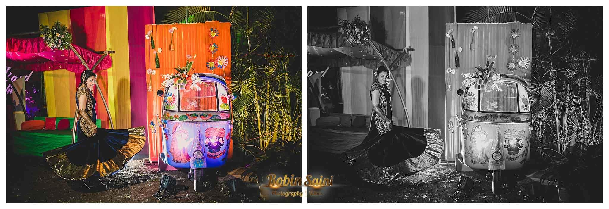 different wedding decoration:robin saini photography