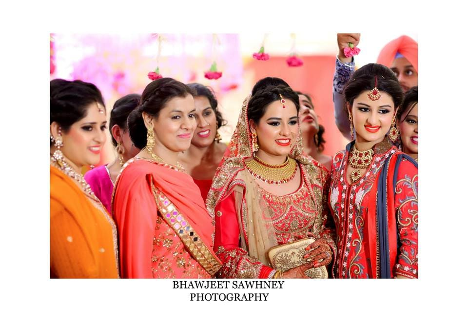 clicks with bride: