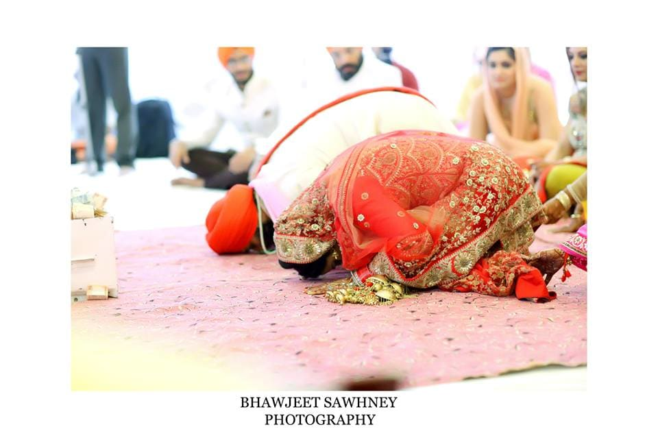 wedding ritual in gurudwara: