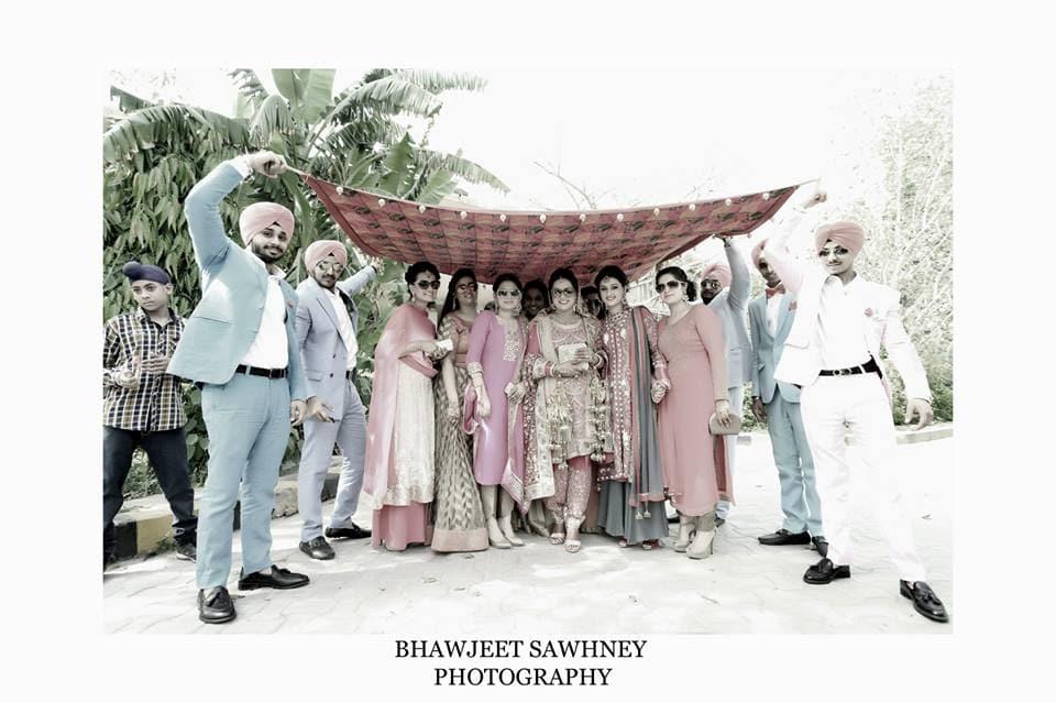 brides entry: