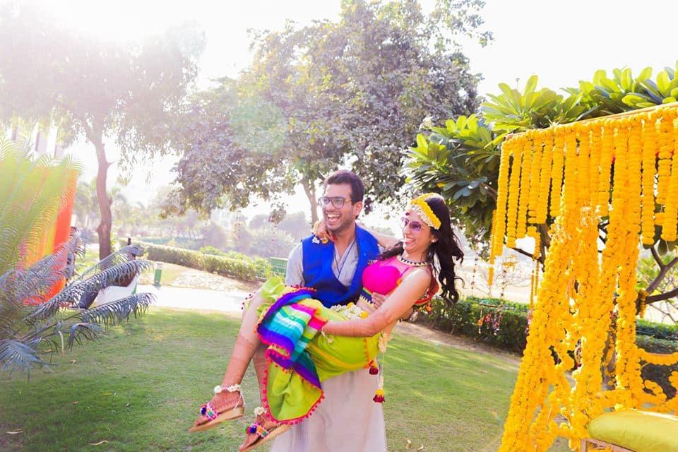 lovely couple click:mahima bhatia photography