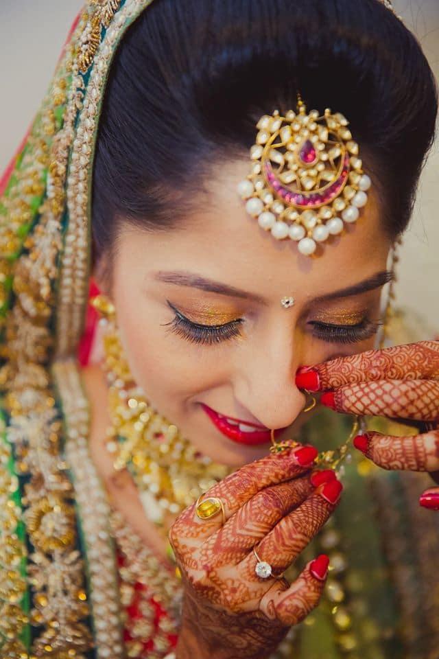 beautiful bridal jewellery:mahima bhatia photography