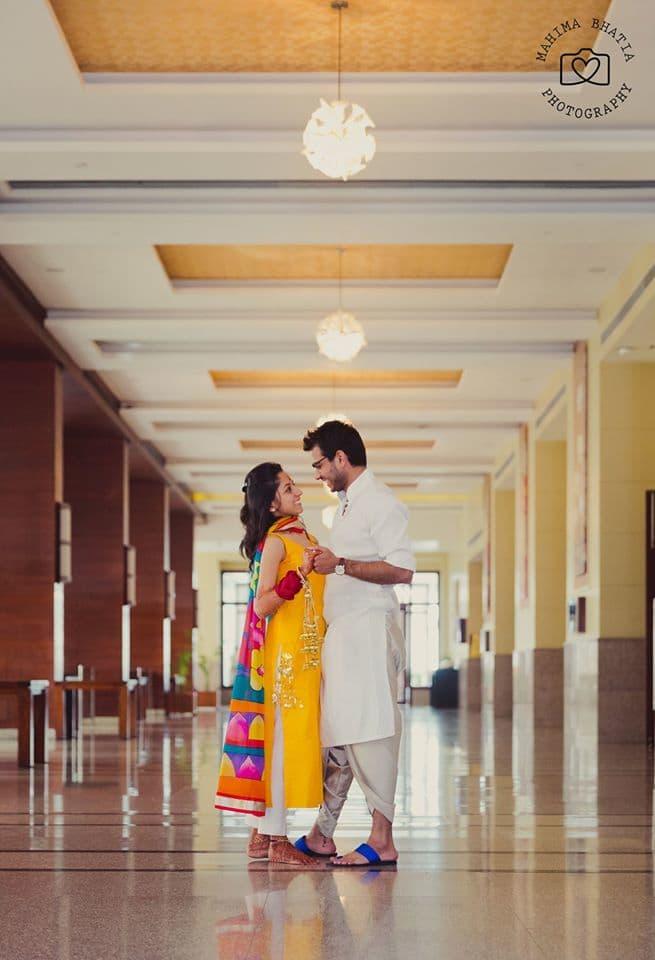 wedding couple click:mahima bhatia photography