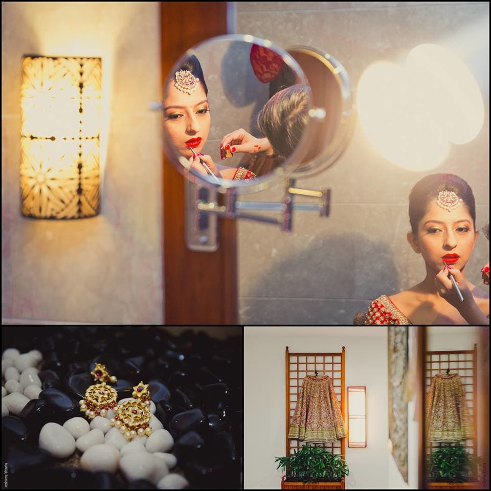 beautiful bridal makeup:mahima bhatia photography