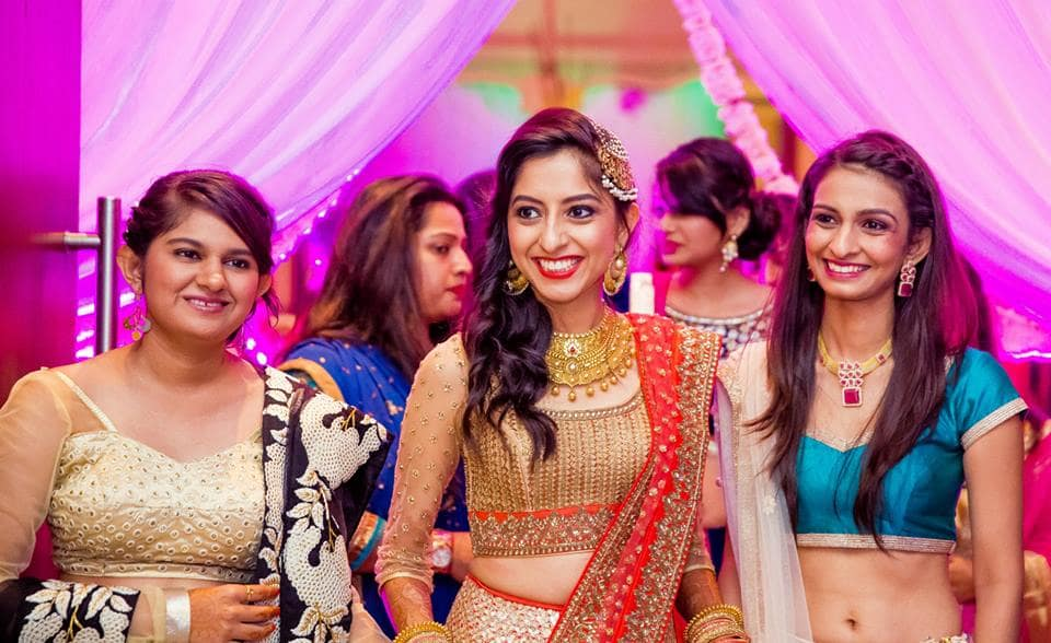 sangeet outfit:mahima bhatia photography