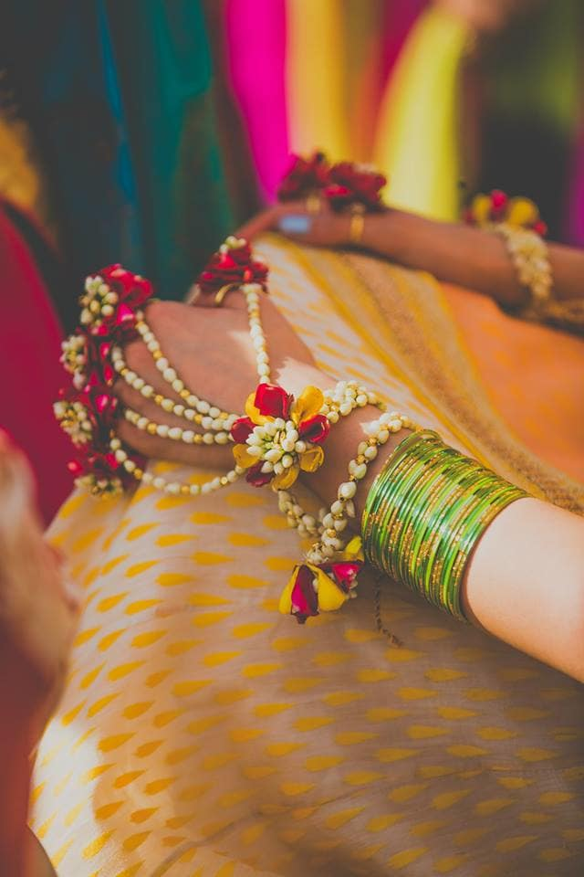 beautiful flower jewellery:mahima bhatia photography