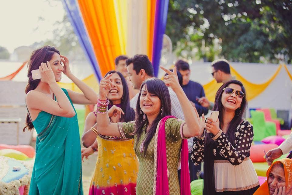 sangeet dance:mahima bhatia photography