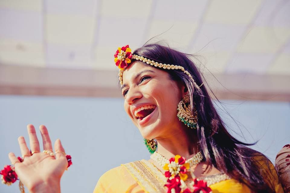 flower jewellery:mahima bhatia photography