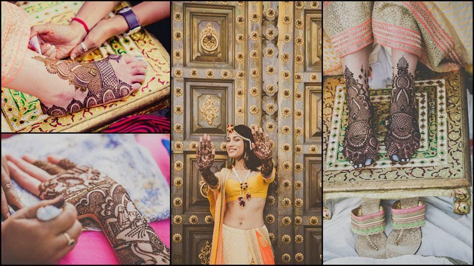 bridal mehndi:mahima bhatia photography