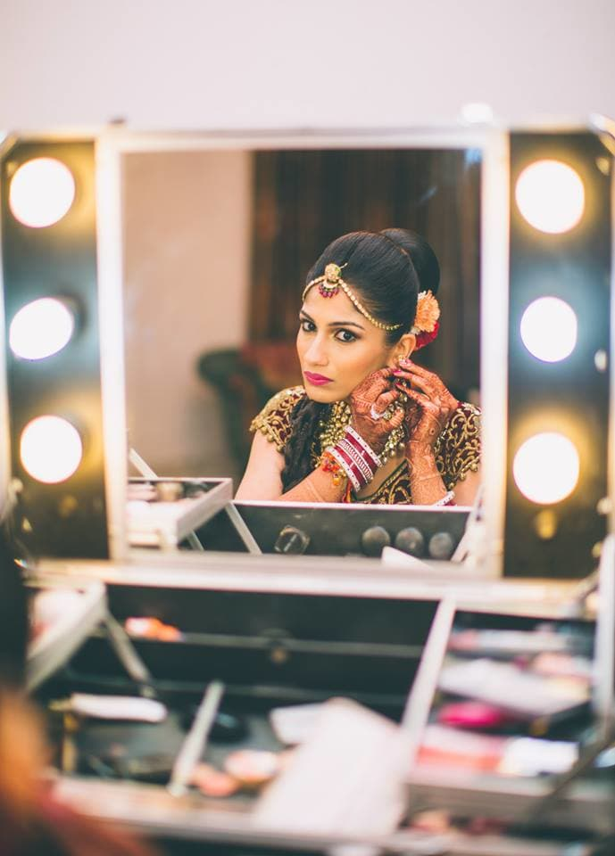 bridal makeup:mahima bhatia photography