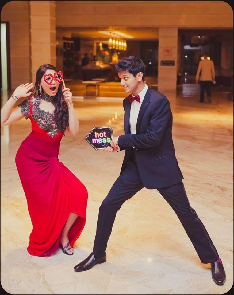 wedding couple dance in sangeet:mahima bhatia photography