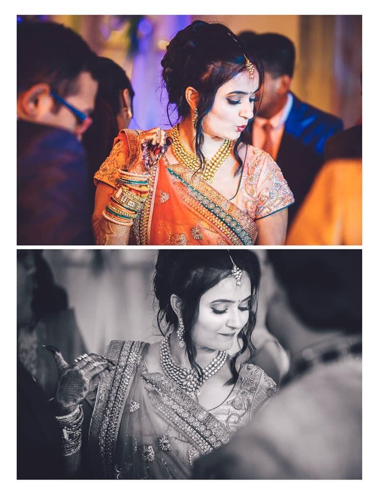 brides dance:girl in pink photography