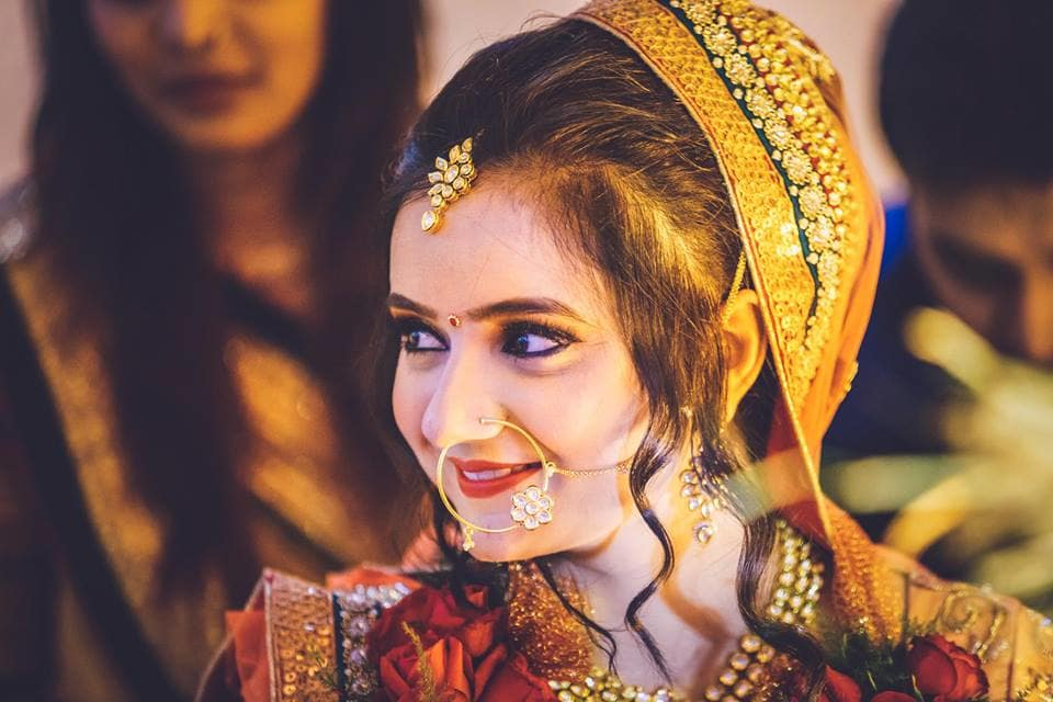 beautiful bridal click:girl in pink photography
