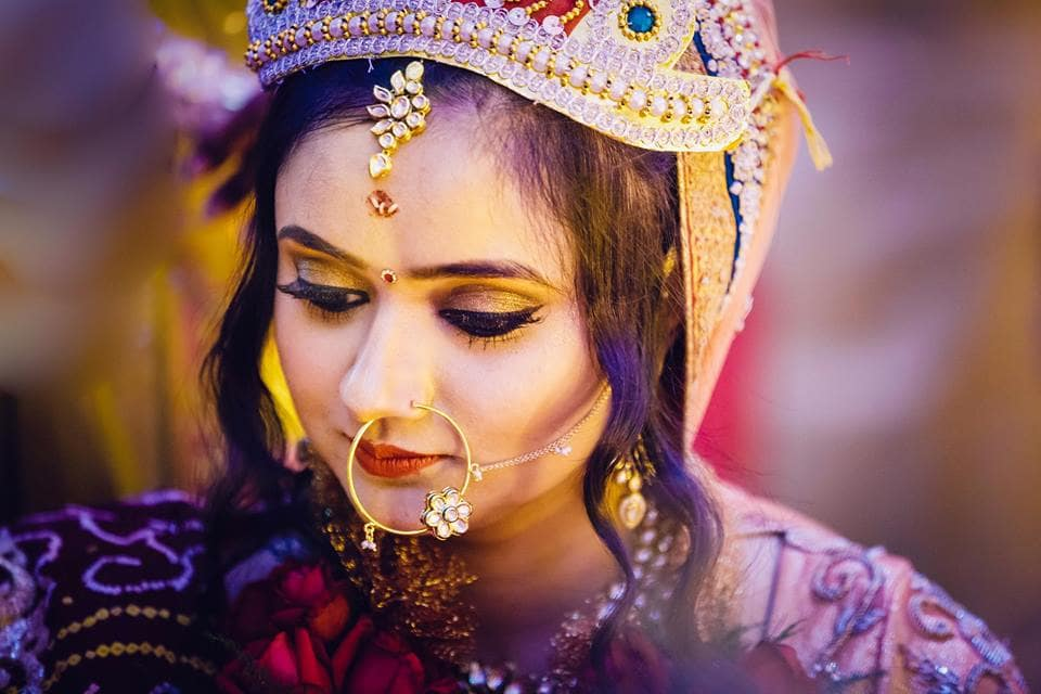 bridal click:girl in pink photography