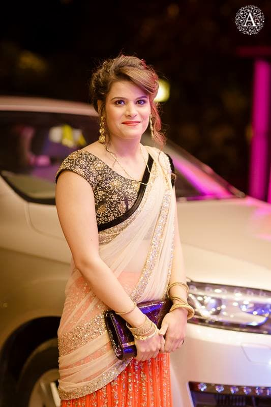 brides entry in sangeet:amour affairs