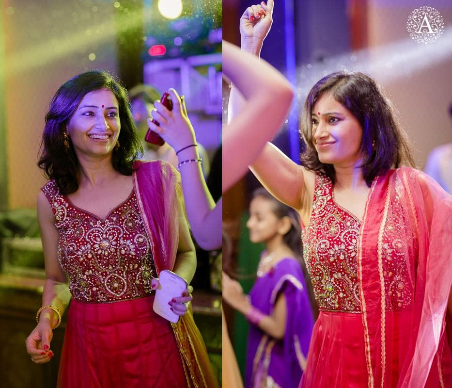 dance in sangeet ceremony:amour affairs