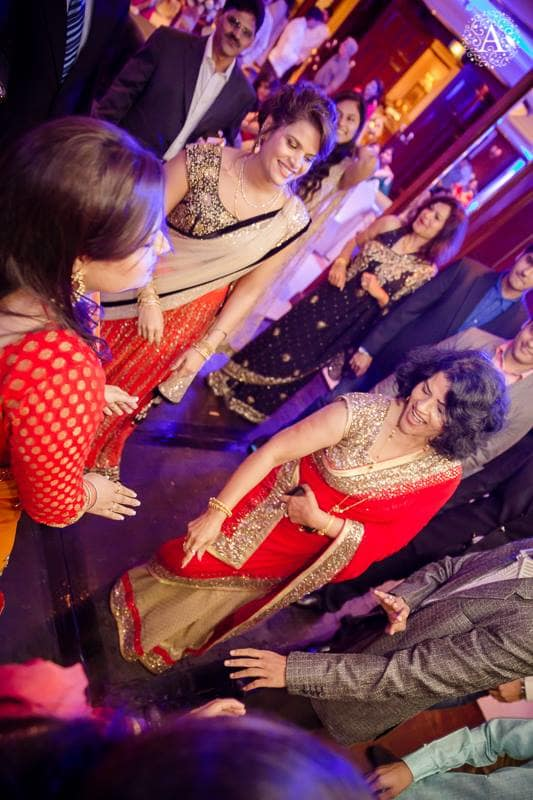 sangeet ceremony:amour affairs