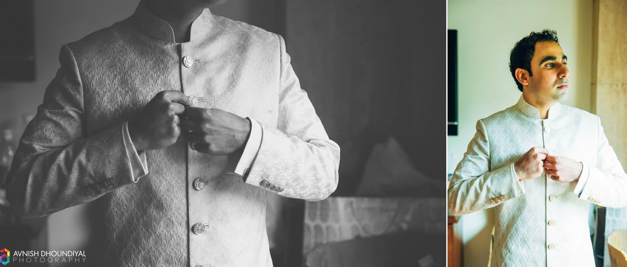 designer groom wear:avnish dhoundiyal photography