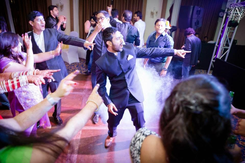group dance in sangeet:amour affairs
