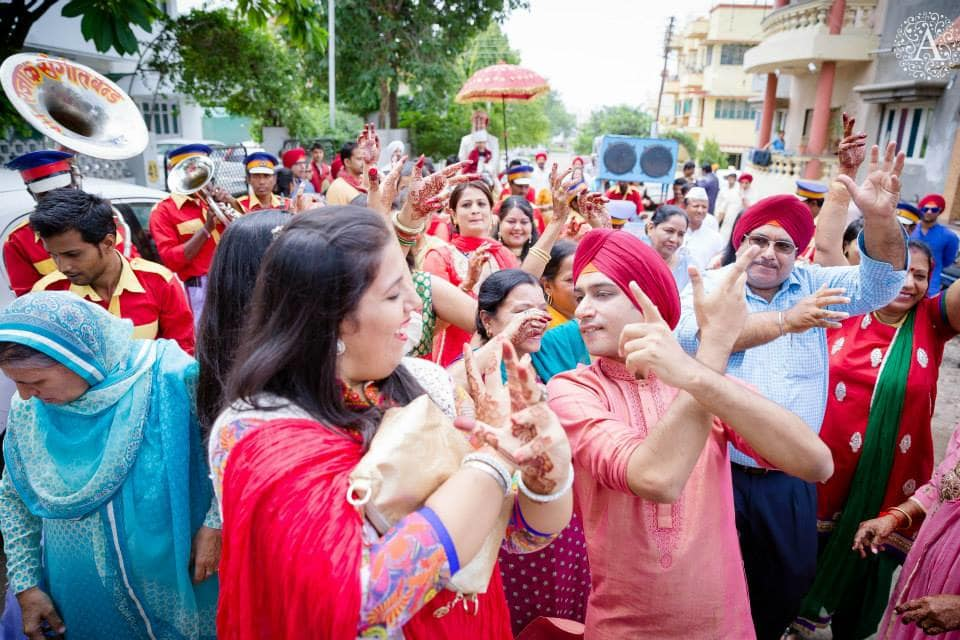 baraat dance:amour affairs