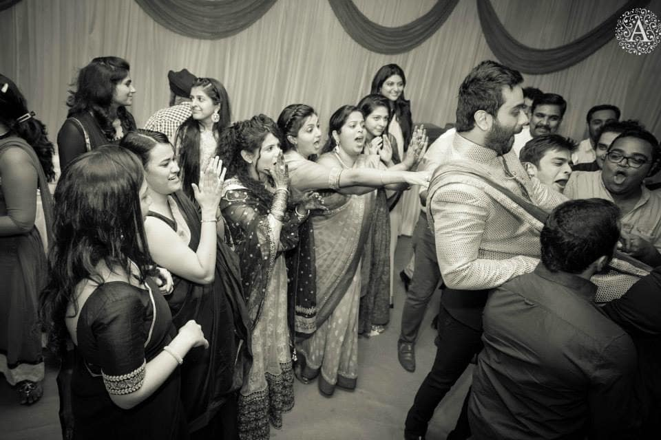 sangeet group dance:amour affairs