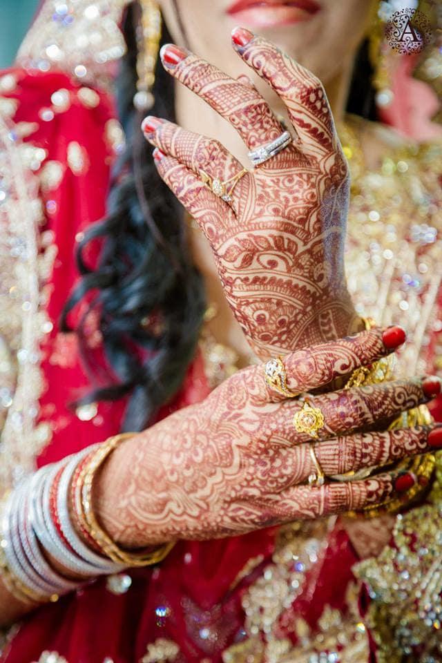 beautiful bridal mehndi:amour affairs