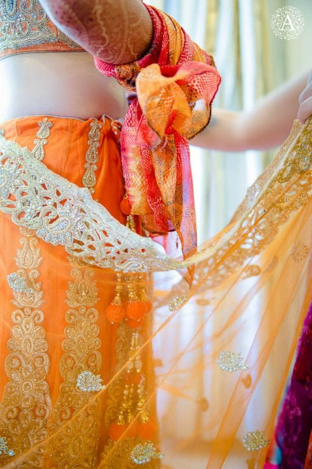 bridal lehenga:amour affairs