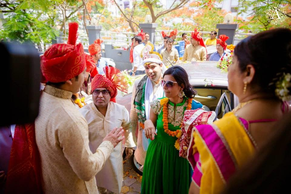 baraat welcome:amour affairs