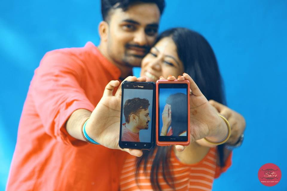 selfie by couple:click sutra