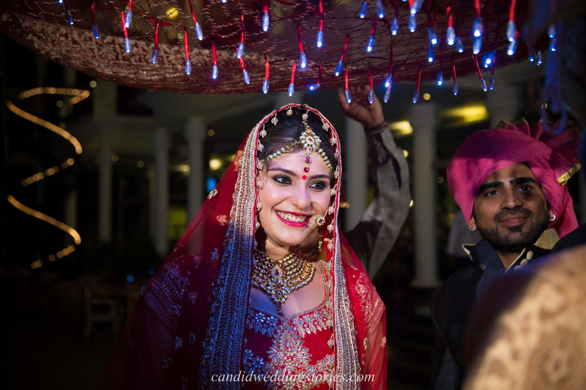 beautiful bridal click:candid wedding stories