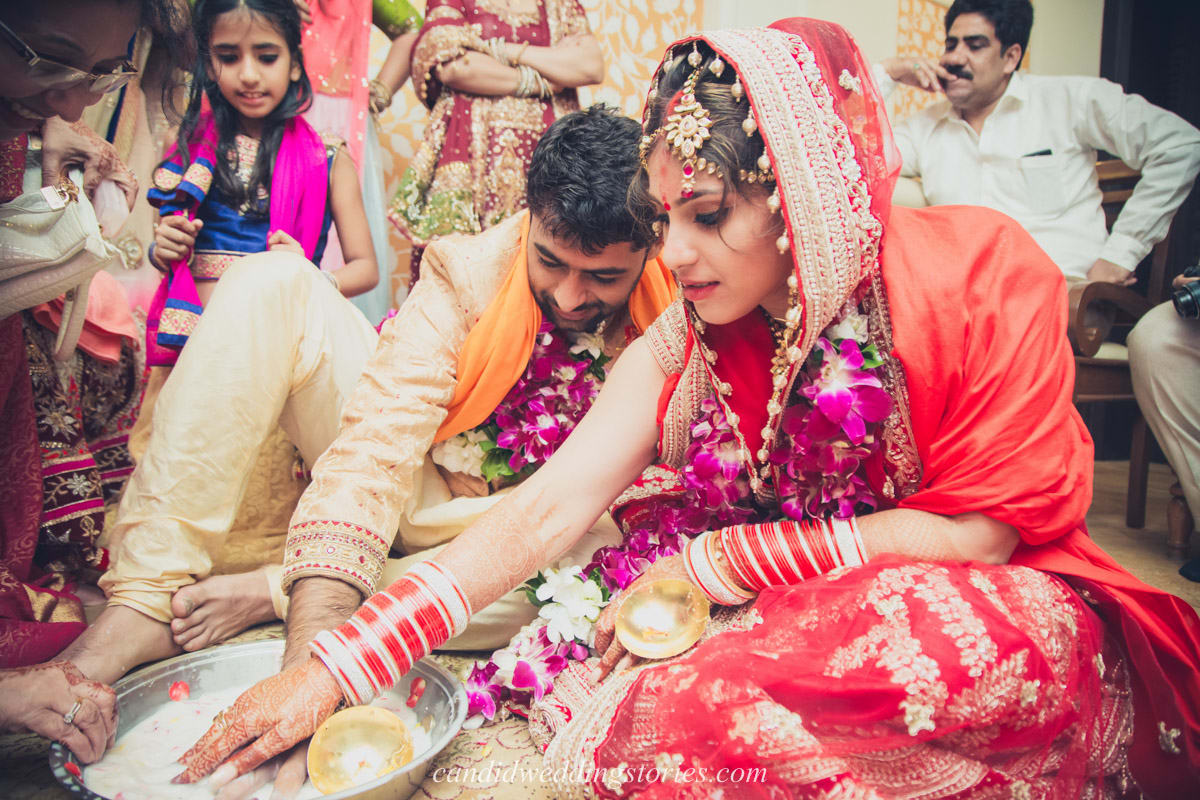 wedding rituals:candid wedding stories