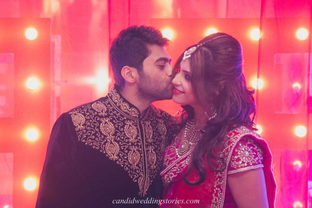 romantic couple click:candid wedding stories
