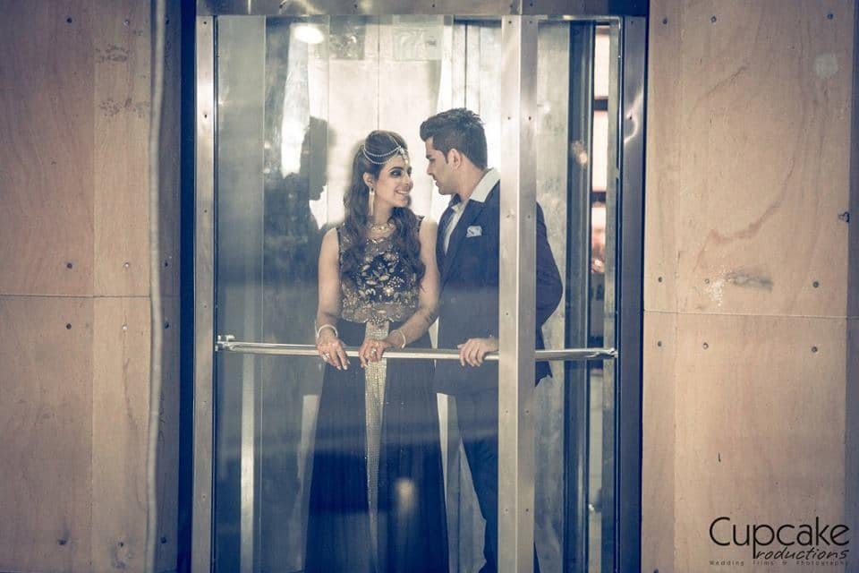 wedding couple click:cupcake productions