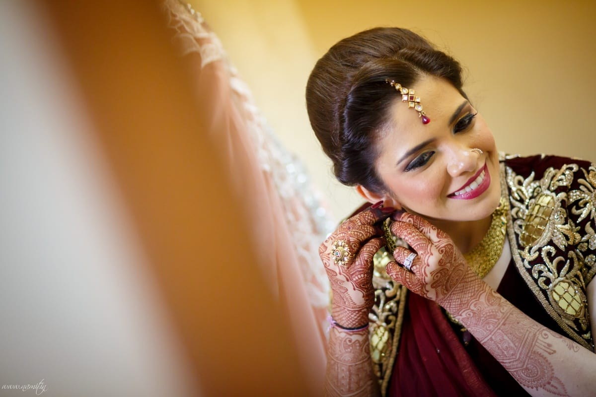beautiful bridal makeup:namit narlawar photography