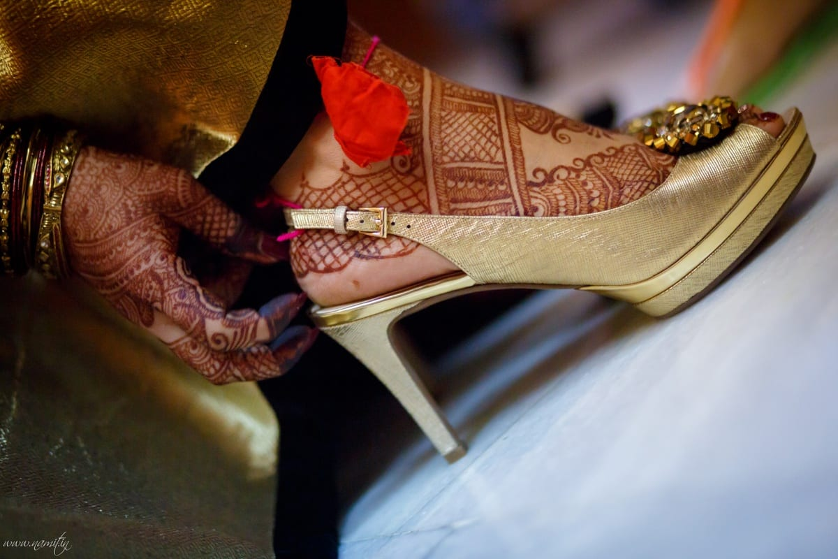 beautiful bridal footwears:namit narlawar photography