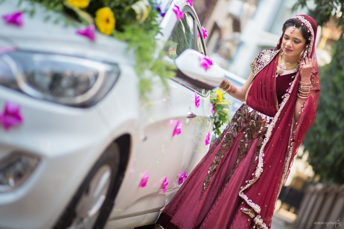 bidaai ceremony:namit narlawar photography