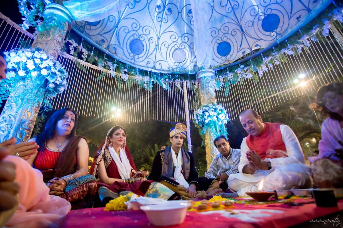 wedding ritual phere ceremony:namit narlawar photography