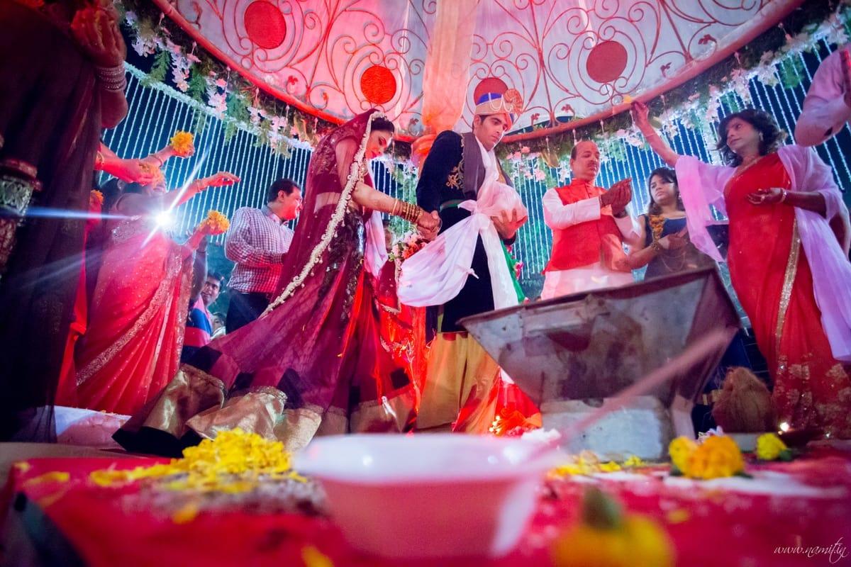 wedding ritual:namit narlawar photography