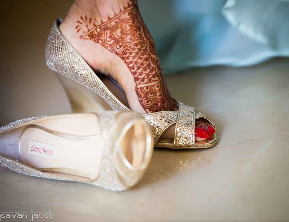 bridal footwear:pavan jacob photography