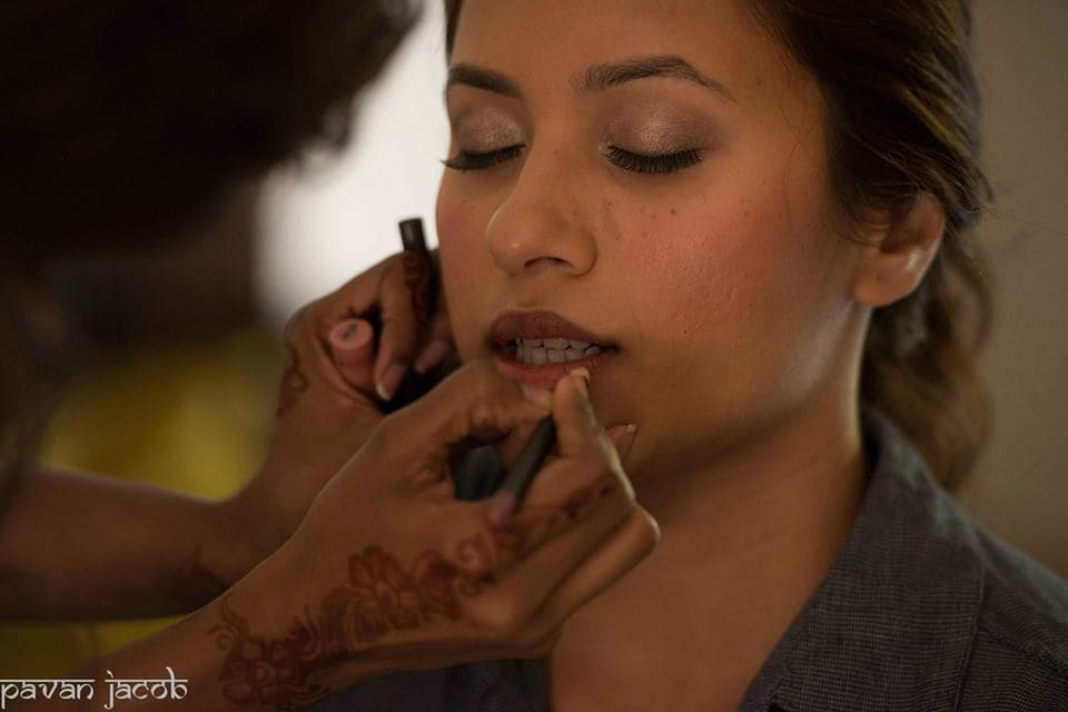 bridal makeup:pavan jacob photography