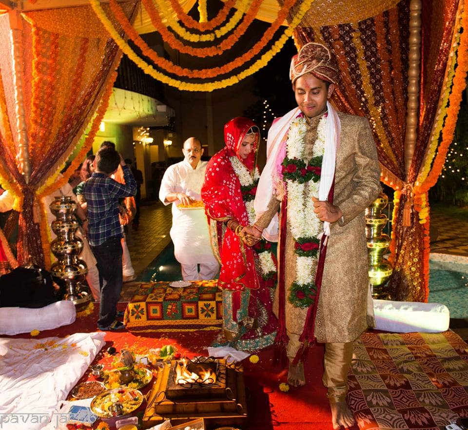 wedding ritual phere:pavan jacob photography