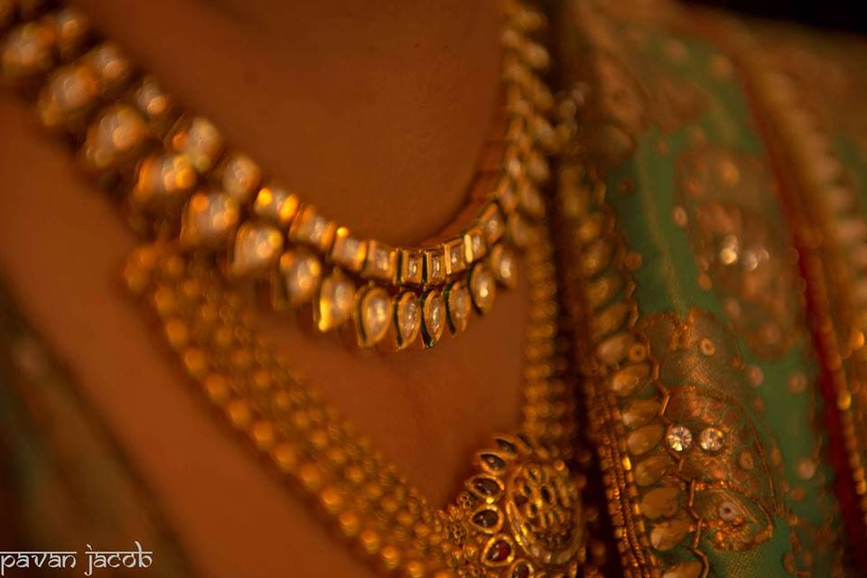 beautiful gold jewellery:pavan jacob photography