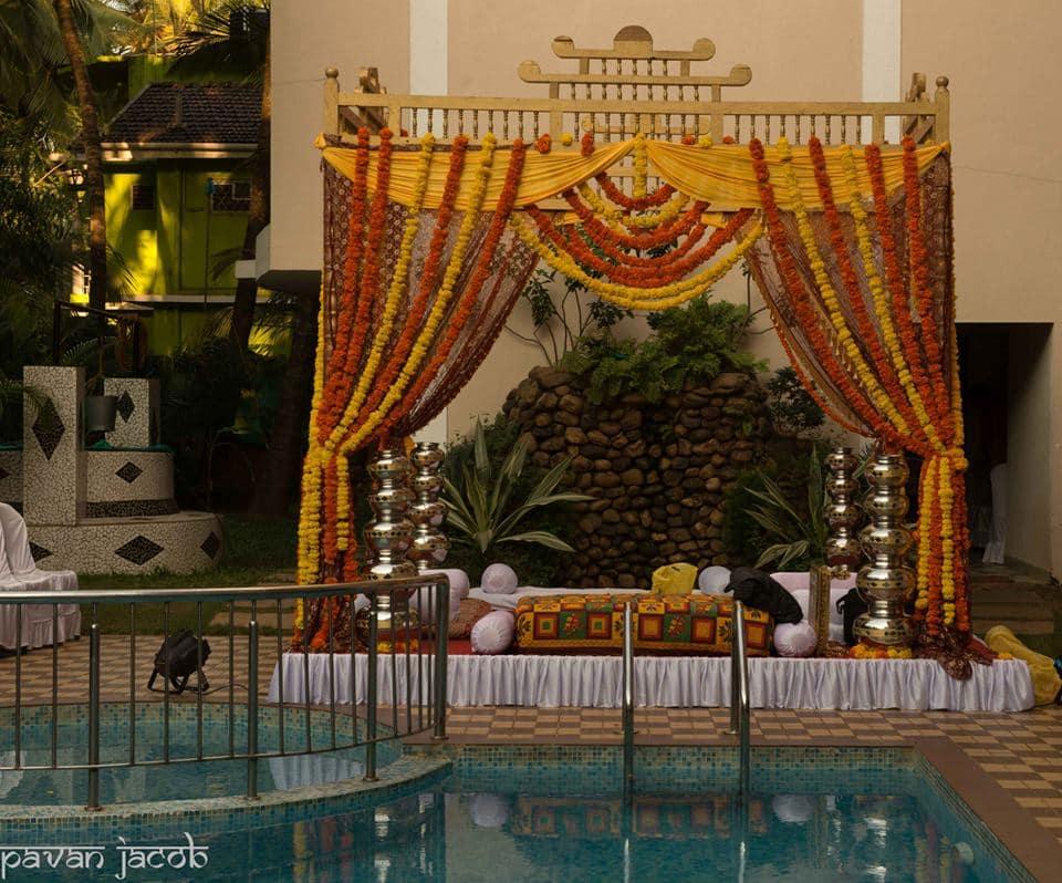 beautiful decoration:pavan jacob photography