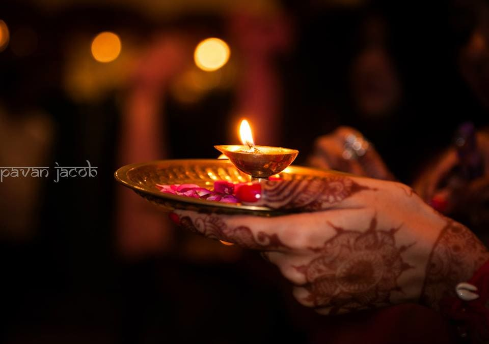 welcome with diya:pavan jacob photography
