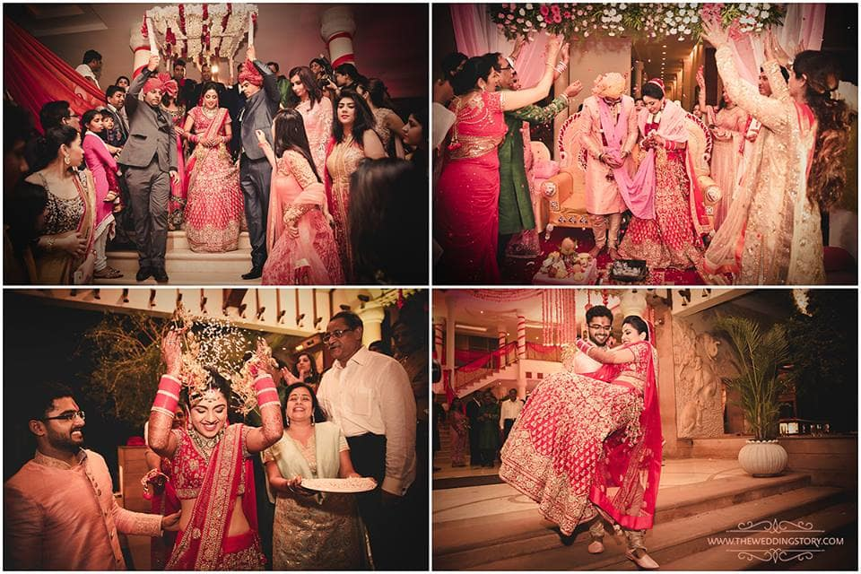 after wedding clicks:the wedding story