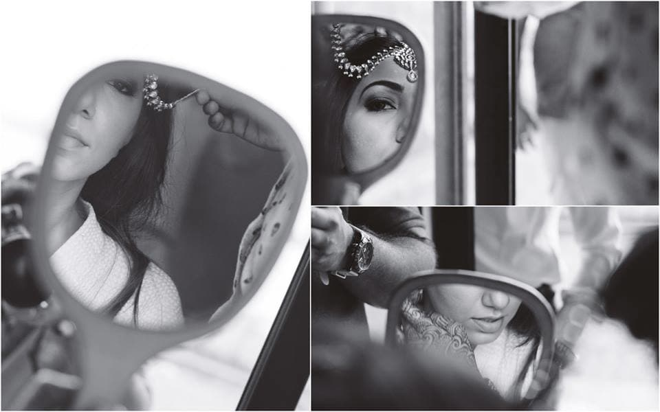 bridal makeup: