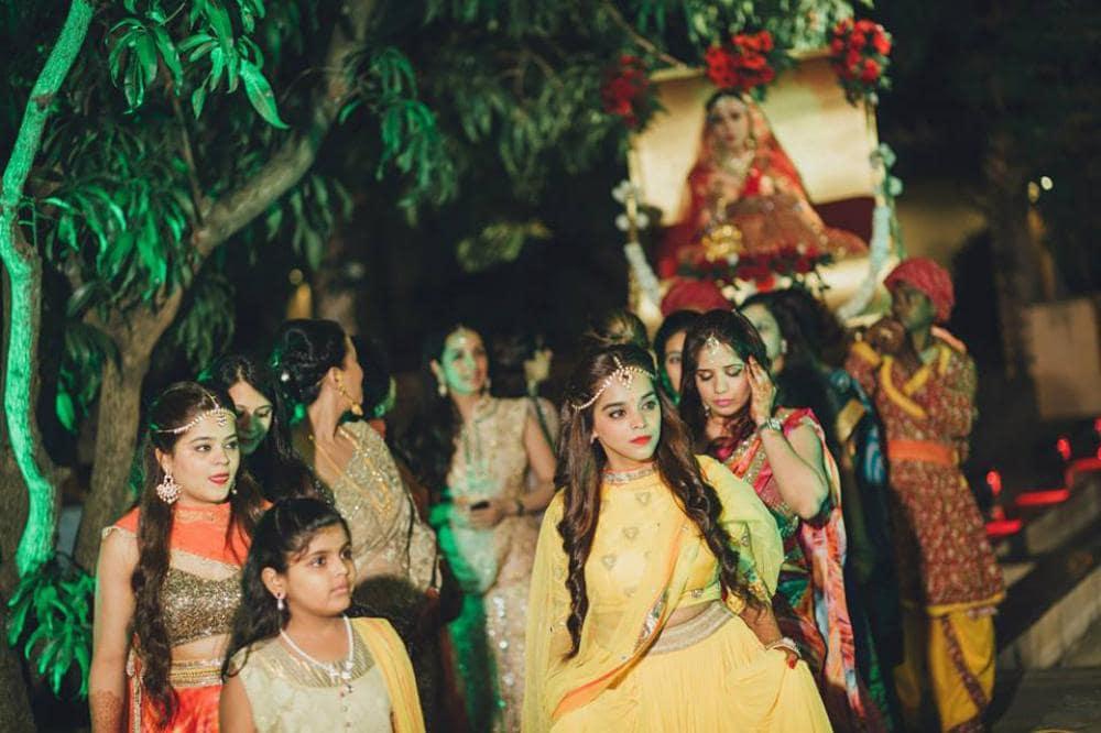 bridal entry: