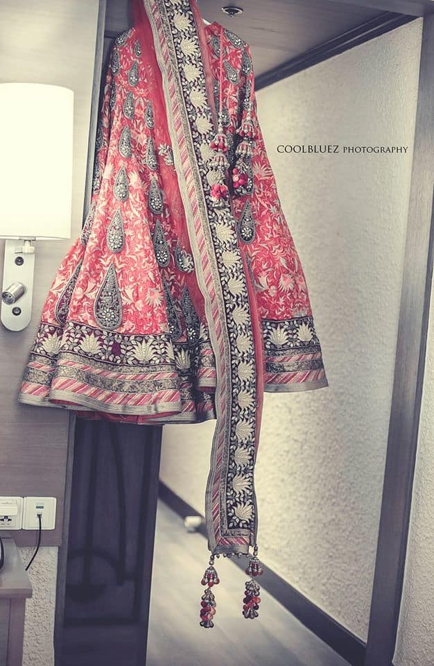 beautiful bridal lehenga:coolbluez photography
